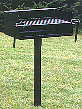 Model 160 Heavy Duty Campfire Park Grill