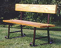 Campground & Park Benches