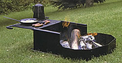 Campground Grills and Fire Rings